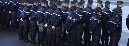 1000 candidats admis au concours de sous-officier de la Gendarmerie dans l'attente du début de leur formation